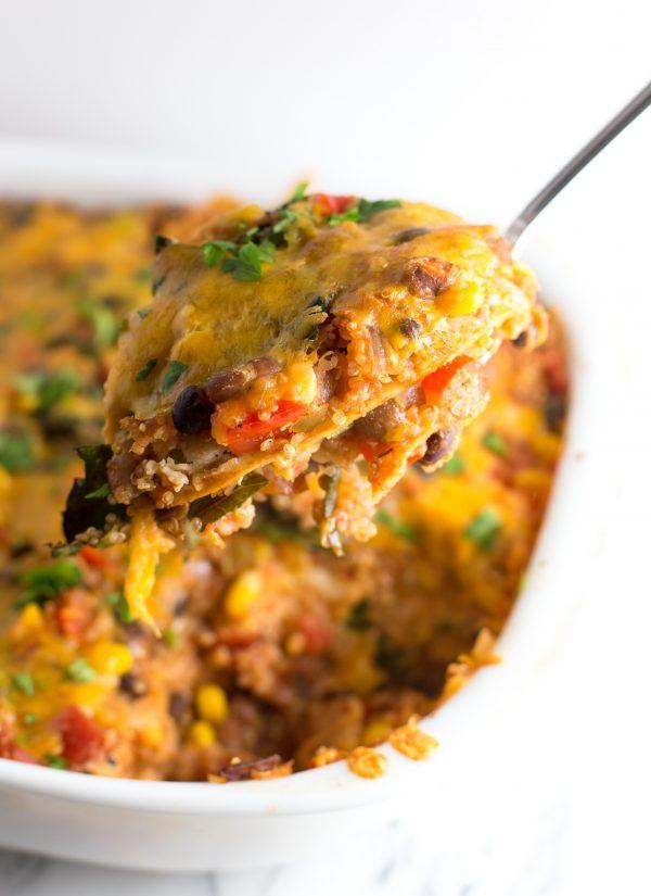 Mexican Quinoa Casserole
