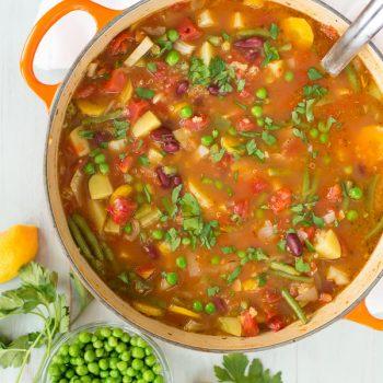 Vegetable Quinoa Soup