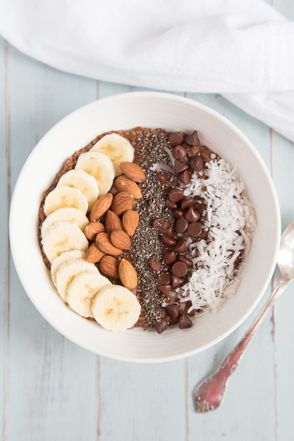 Chocolate Coconut Macaroon Oats -