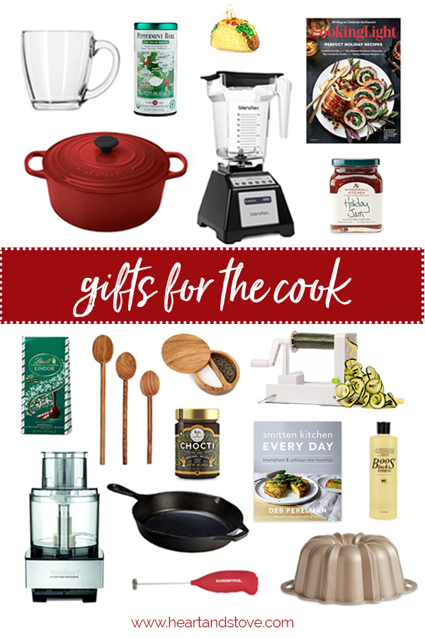 2017 Holiday Gift Guide - Gifts for the Cook | www.heartandstove.com